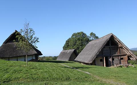 Blick in's Dorf