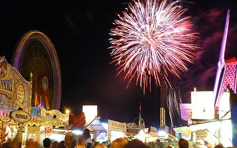 Dult Feuerwerk